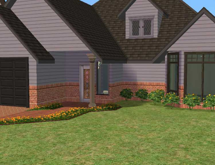 Mod The Sims Maxis Mixes Earthtones Set Half Siding