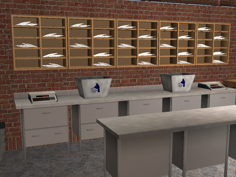 Mod The Sims - Llama Express Post Office Project – 1