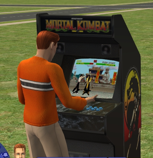sims 4 arcade machine