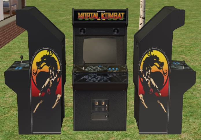 Mod The Sims - Mortal Kombat Arcade game