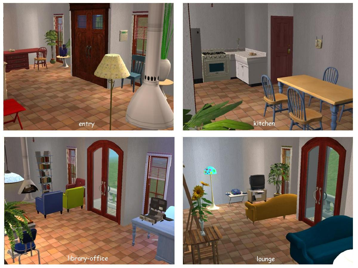mod the sims spanish town house