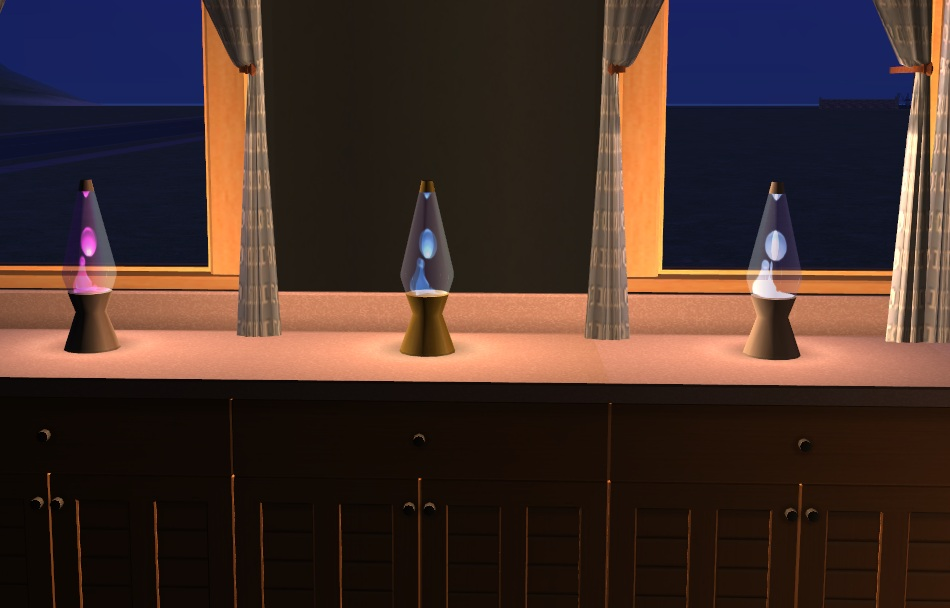 Recolors from The Sims Numenor's the Lavalamp Mod of E9YIWHD2