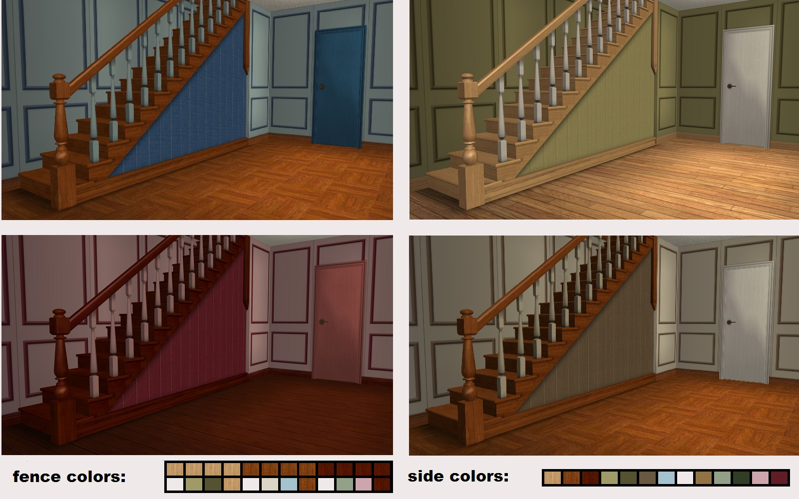 Upwardly Mobile Staircase: Build Mode//Staircases//Staircases: 1000 §