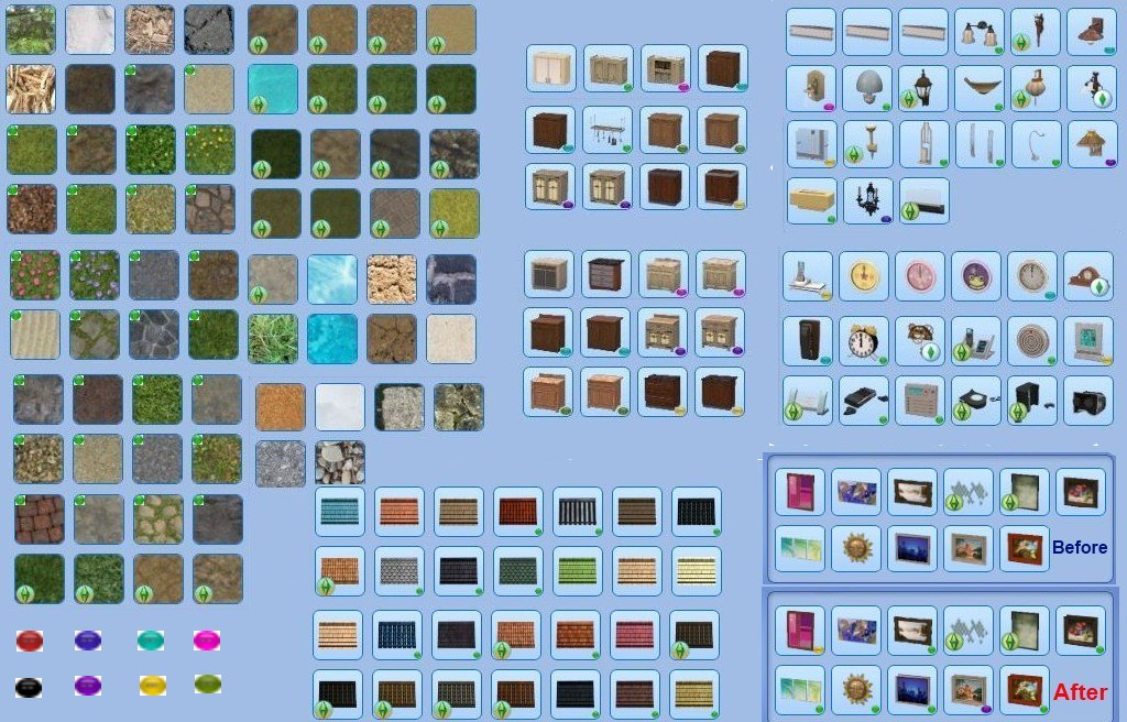 Mod the sims game patches