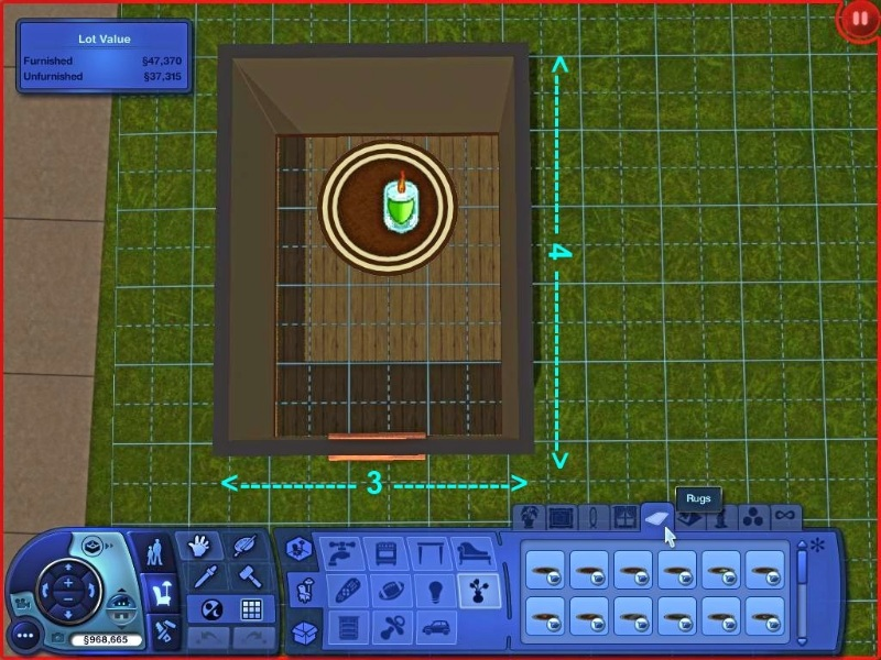 Mod The Sims Jynx S Rabbit Holes Rugs For Residential Lots