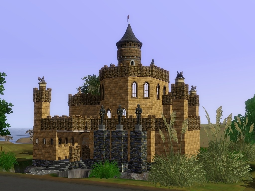 sims 2 japanese fortress - photo #36