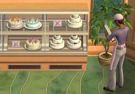 Mod The Sims Celebration Custom Cakes Can Be Placed In OFB - Sims 4 Wedding Cake Cheat