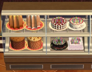 Sims  Wiki Birthday Cake