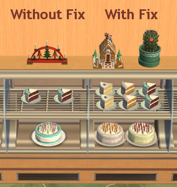 Mod The Sims Celebration Amp Custom Cakes Can Be Placed In