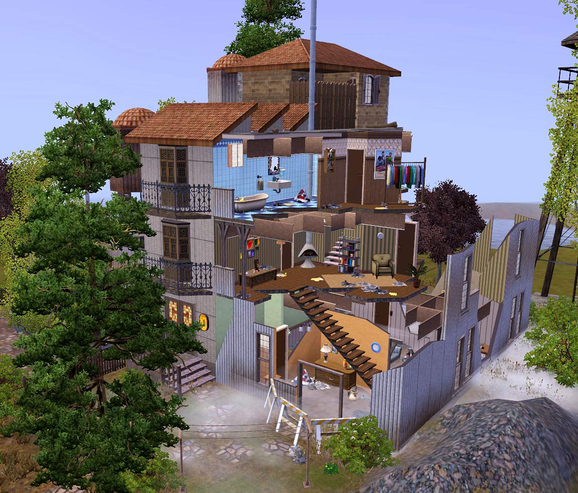 Mod The Sims The Destroyed Building