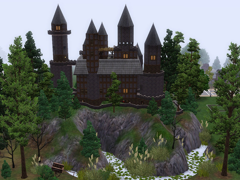 Mod The Sims Castle Of Dark Age