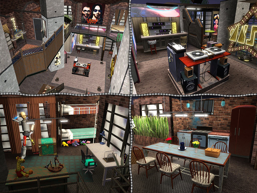 Mod The Sims The Old Warehouse Residential Estate Fixed