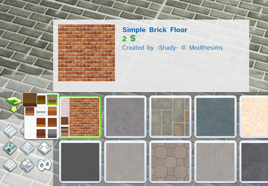 how to turn floor tiles in sims 3