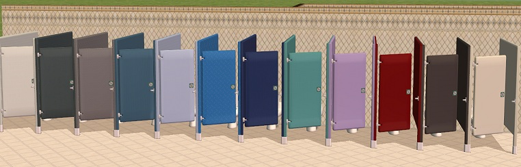 Bathroom Stalls Sims 3 mod the sims - testers wanted: *ep update 2-06-05* 4 + 12 bathroom