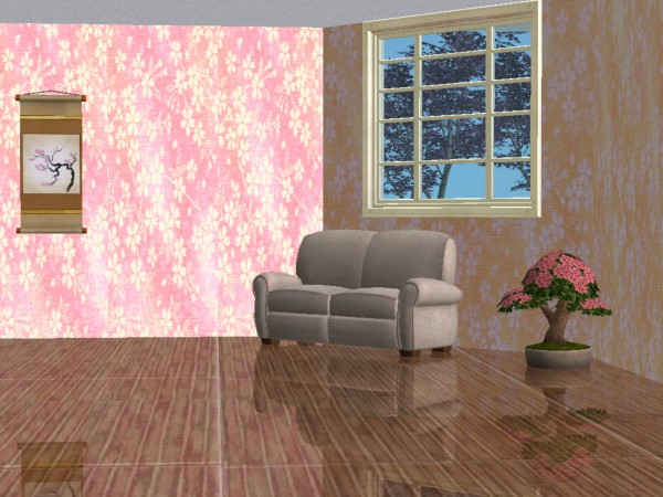 Mod The Sims - Beautiful Japanese Wallpaper