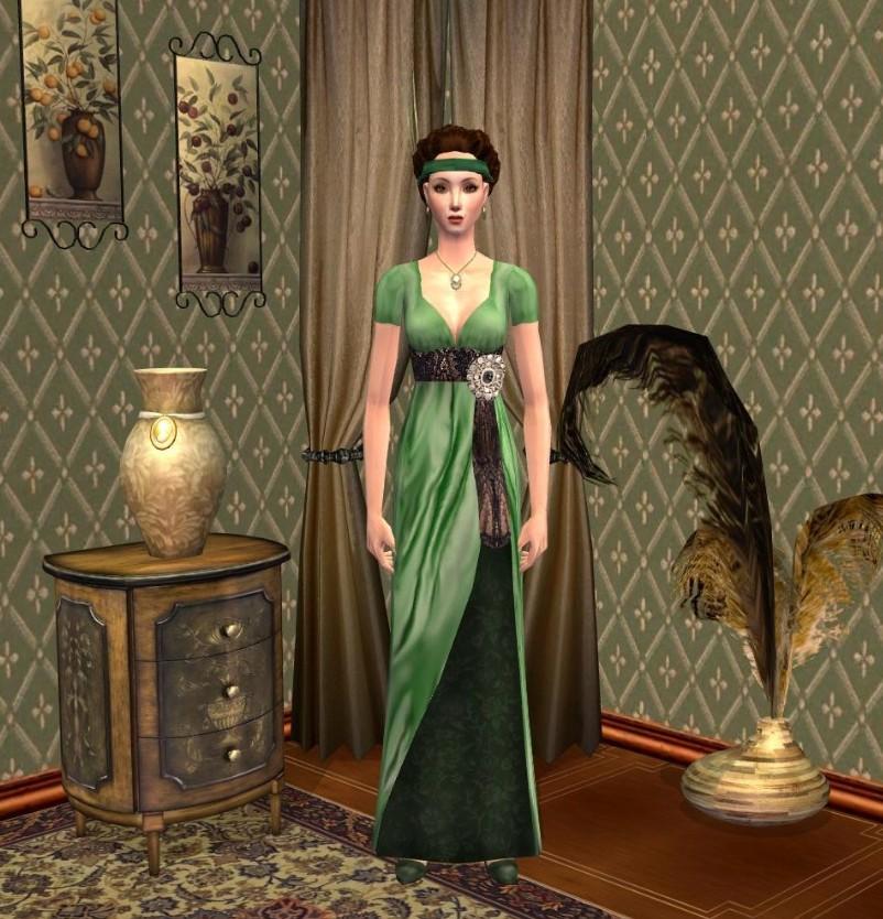 Mod The Sims - Elegant Edwardian Lady
