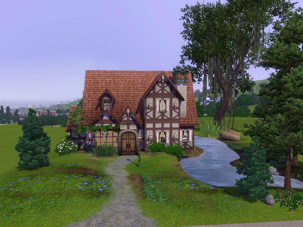 Mod Sims Cambridge Cottage