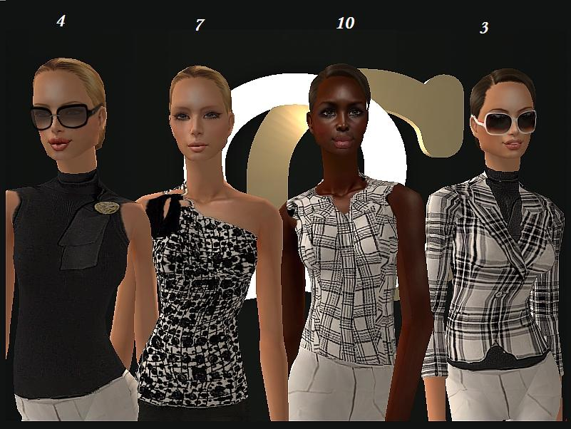 Mod The Sims Gucci Ready 2 Wear By Q Couture