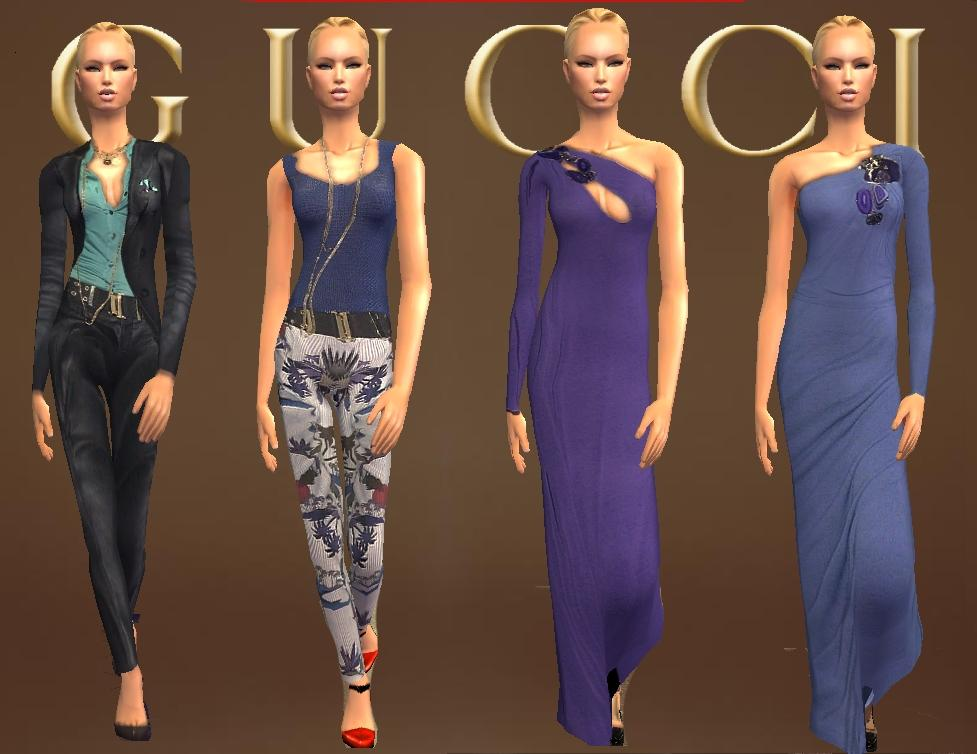 Mod The Sims Gucci Spring Summer 2009
