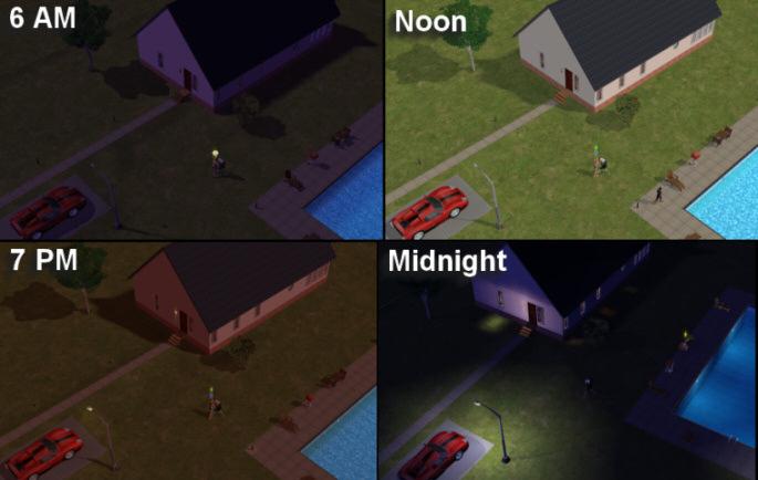 Mod The Sims Gunmod S Radiance Light System 2 1