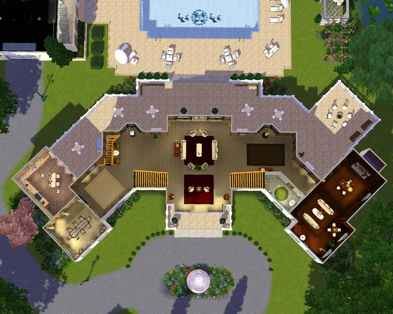 Mod The Sims Manor Estate