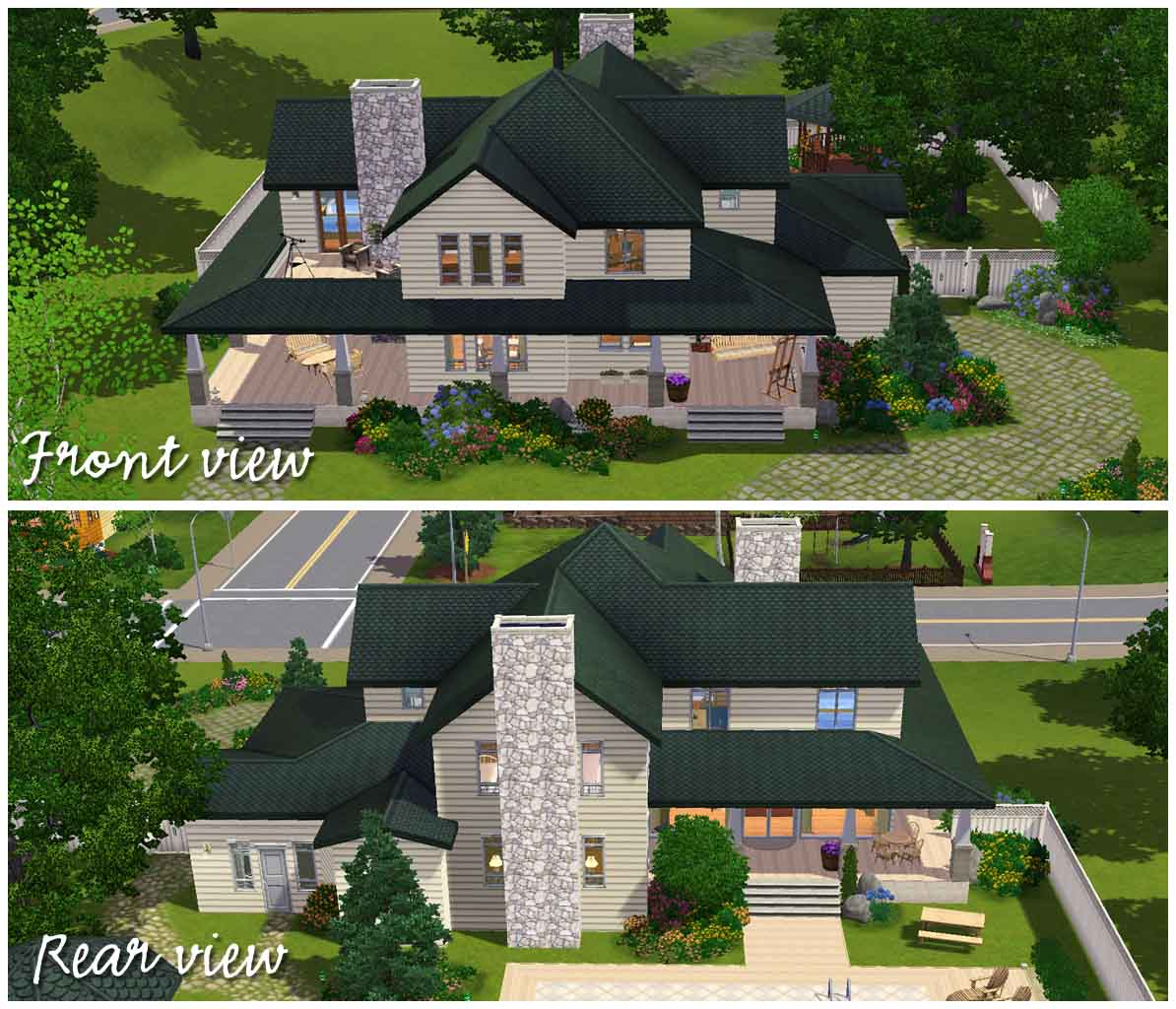 Mod the sims country family house for Classic house sims 3