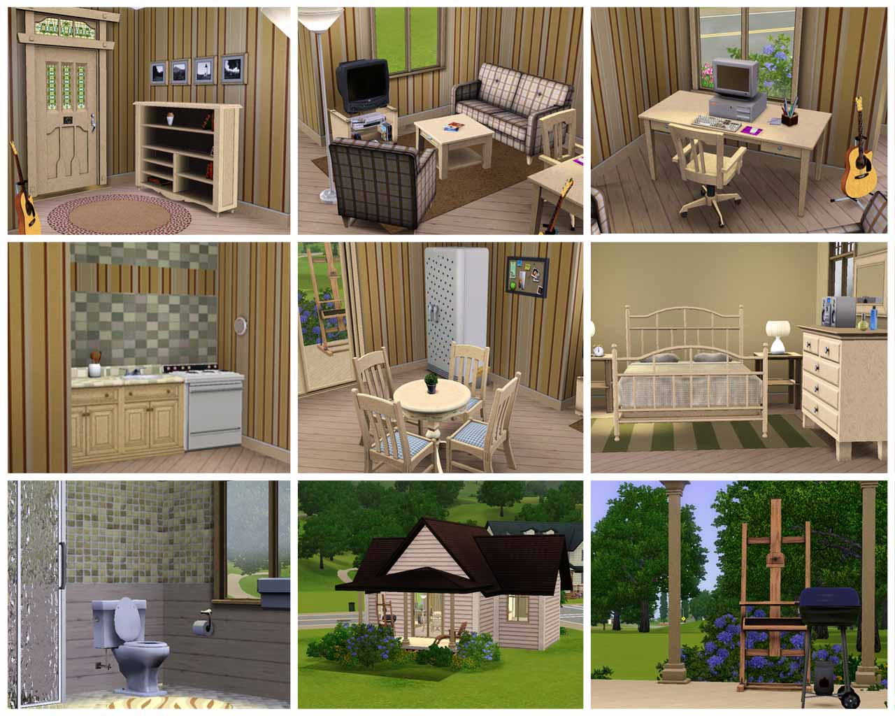 Mod the sims water lily starter for Small starter homes
