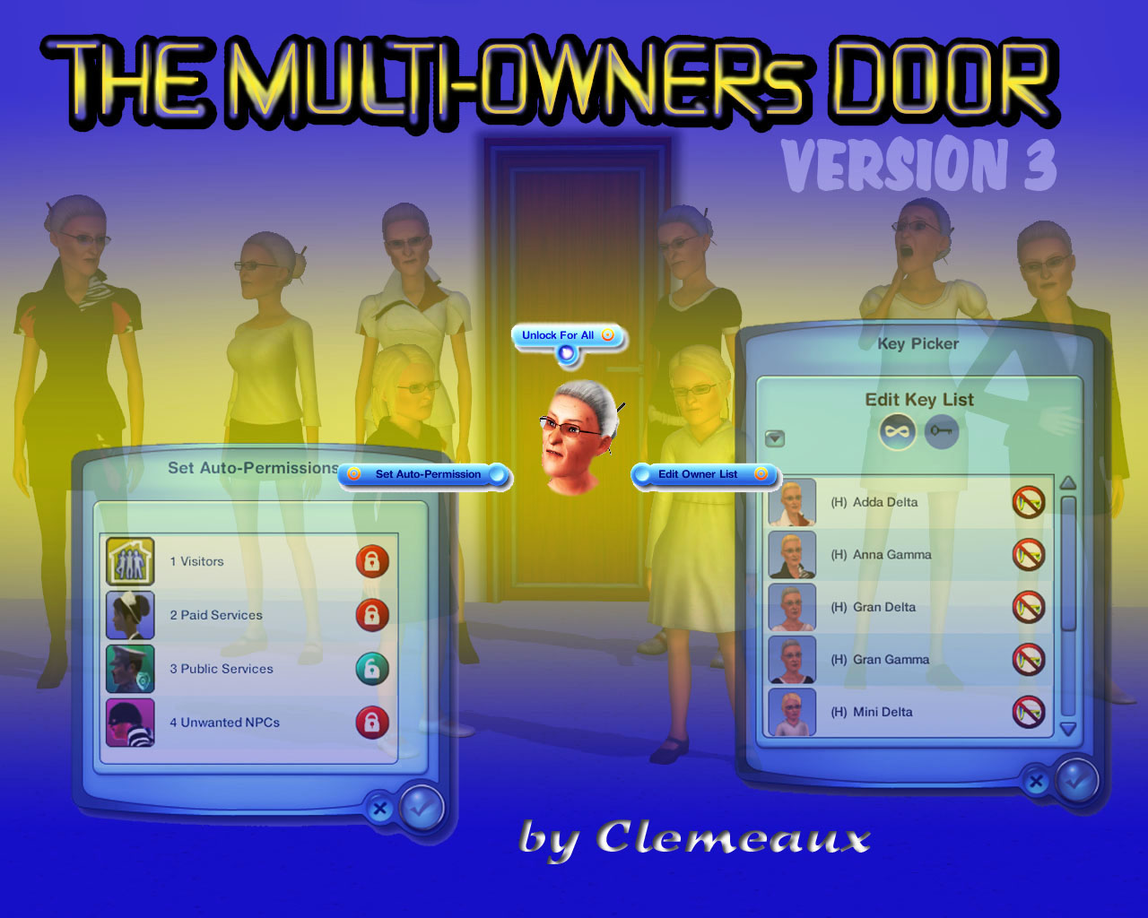 how to use master controller sims 3