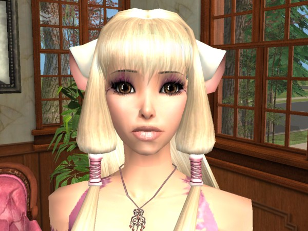 Chobits chii sims 4 cc - YouTube