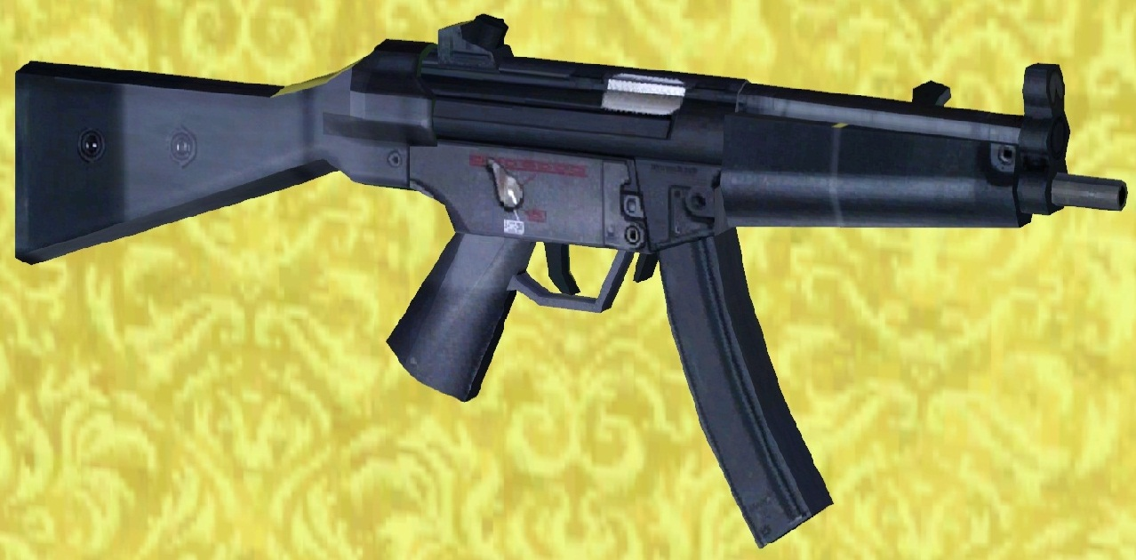 Mod The Sims - HK Mp5 A4