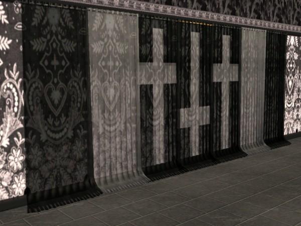 Fascinating Gothic Curtains Contemporary - Best idea home design .