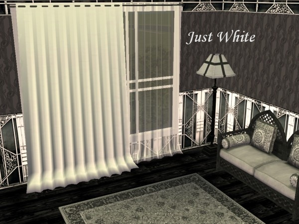 Mod The Sims - The Victorian & Gothic Curtains