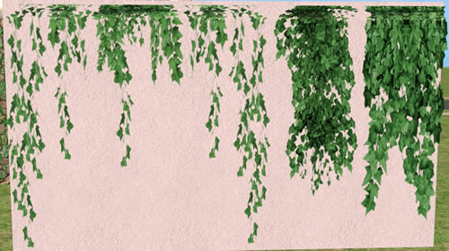Mod The Sims Exterior Hanging Wall Ivy