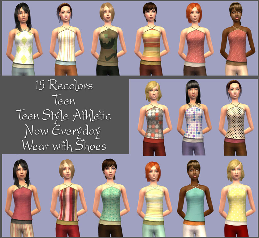sims 2 teen the style