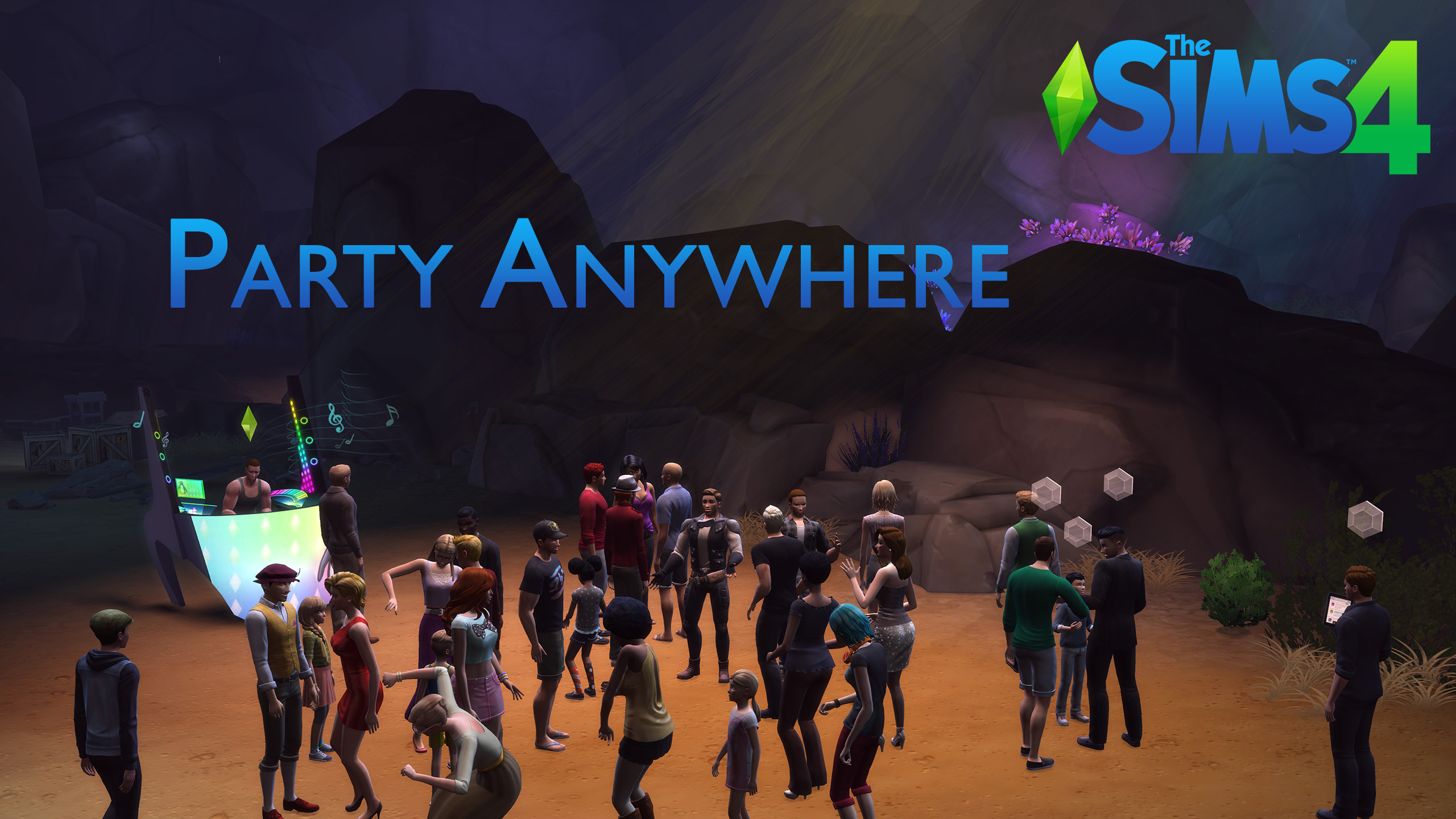 Mod The Sims - Party Anywhere