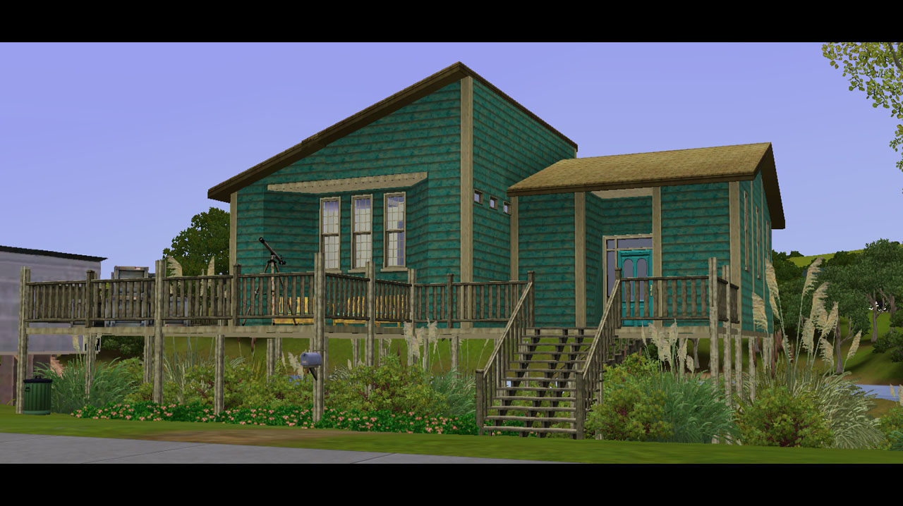 Mod The Sims 10 Poker Flats A Twinbrook Stilt Home