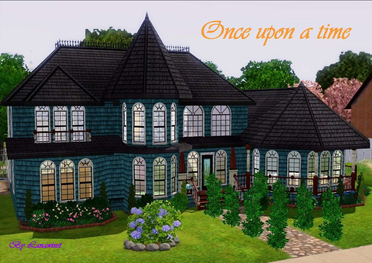 mod the sims once upon a time a queen anne victorian house