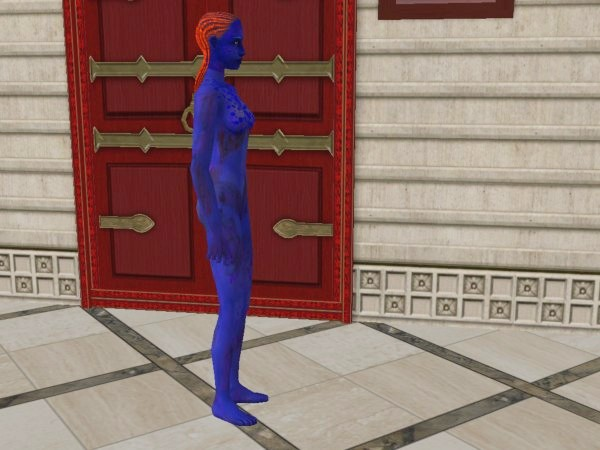 Mod The Sims Mystique Rebecca Romijn Stamos From The