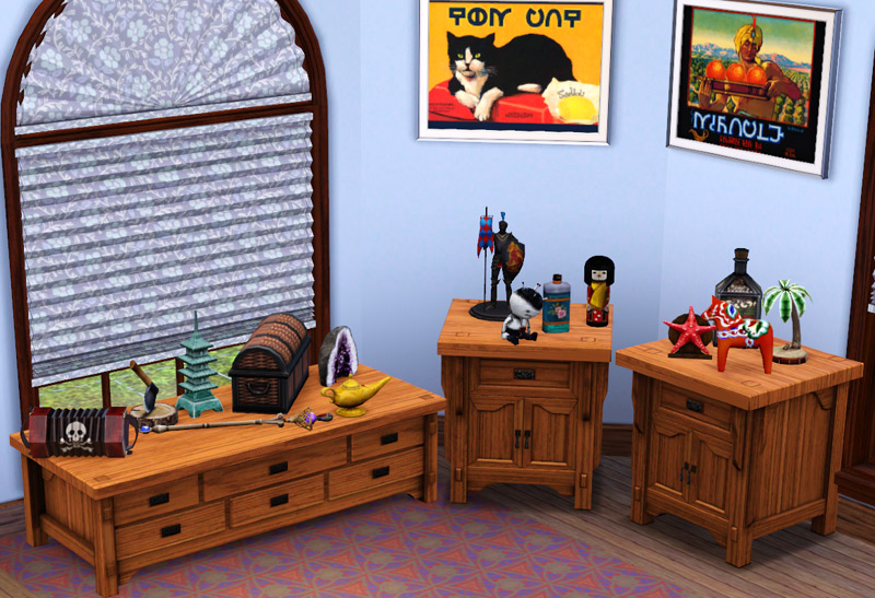 Mod The Sims Clutter Lovely Clutter