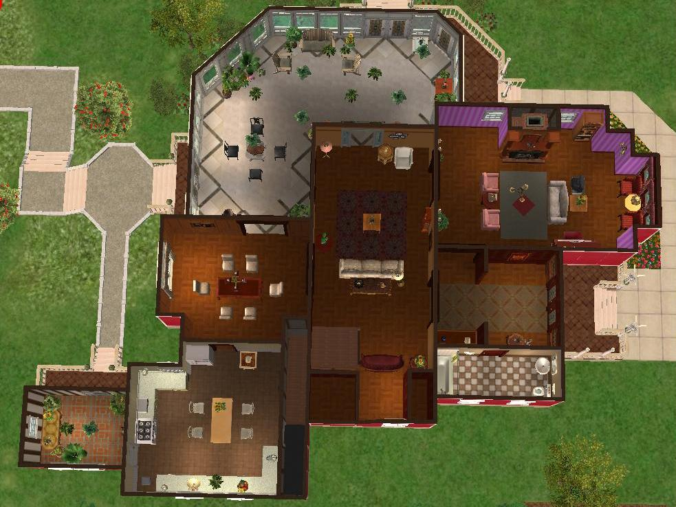 mod the sims - 1329 prescott street - halliwell manor