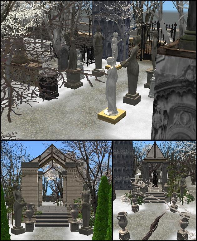Mod The Sims Phantom Of The Opera Wishing Angel Graveyard