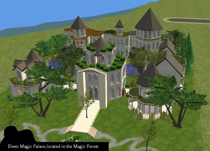 Mod the sims elven palace