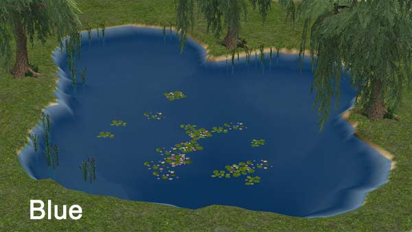 Mod The Sims Pond Water Mod New Colors