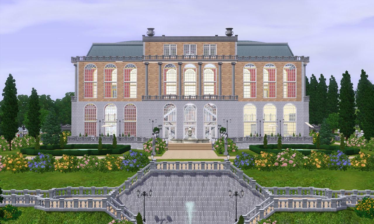 Downton Abbey Floor Plan Mod The Sims Versaillesque A Summer Palace