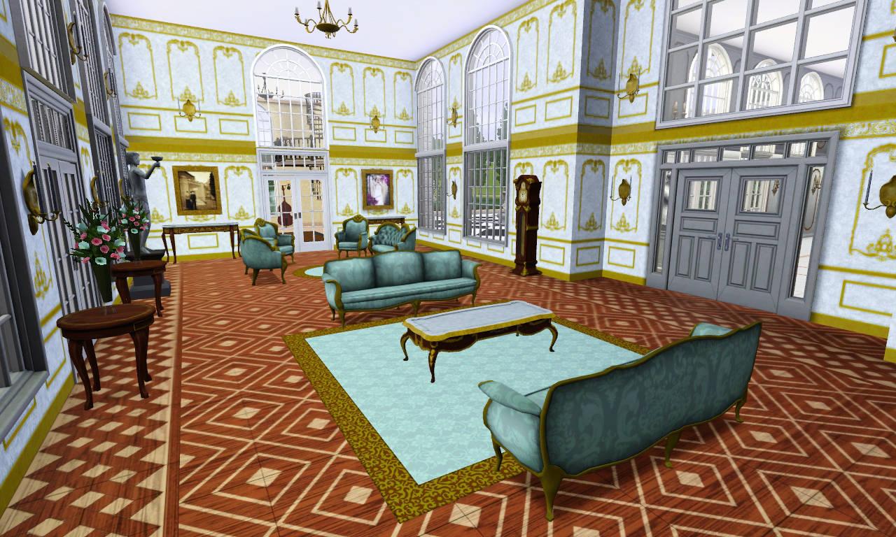 Mod The Sims Versaillesque A Summer Palace
