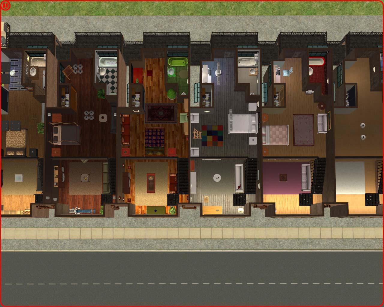 Mod The Sims Corrington Mill Converted Warehouse Apartments