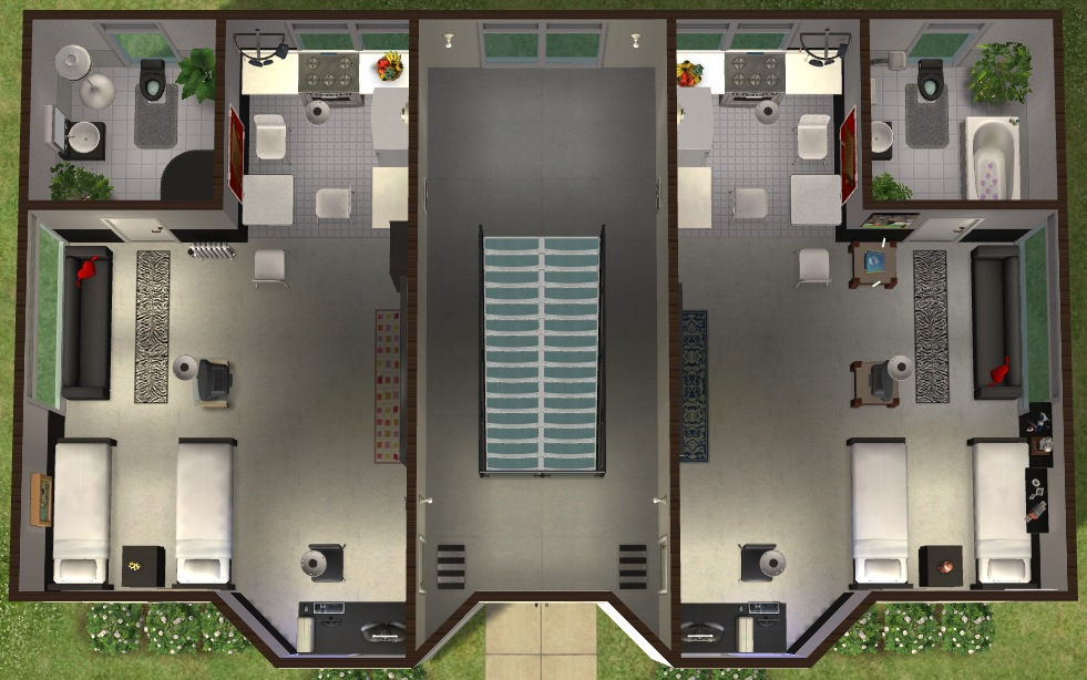 sims 4 how to create an aparment building