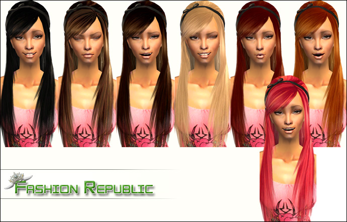 Mod The Sims 7 Lusciously Long Recolours