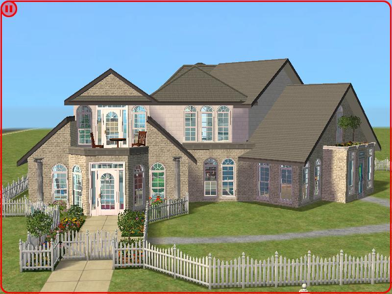 Mod the sims the gregory house can fit 6 sims Hause on line