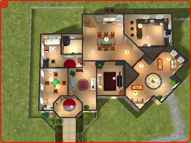 Mod The Sims The Gregory House Can Fit 6 Sims